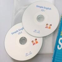 酒井式 Simple EnglishのCDにはテキストの全英文が入ってます。